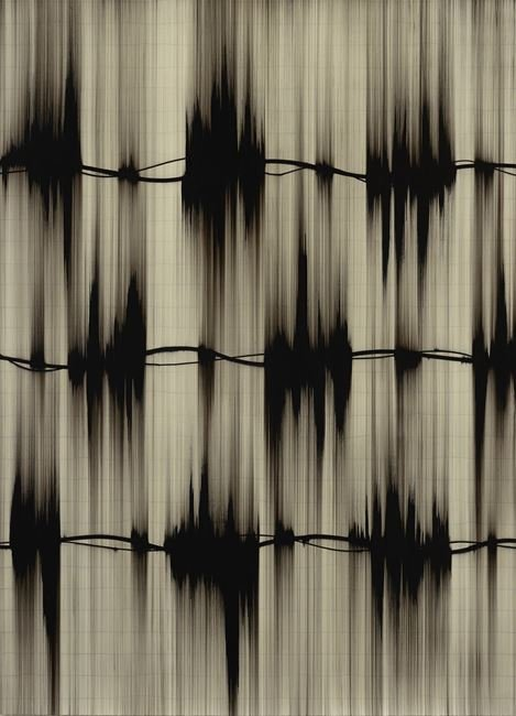 Moire III by Mark Francis contemporary artwork