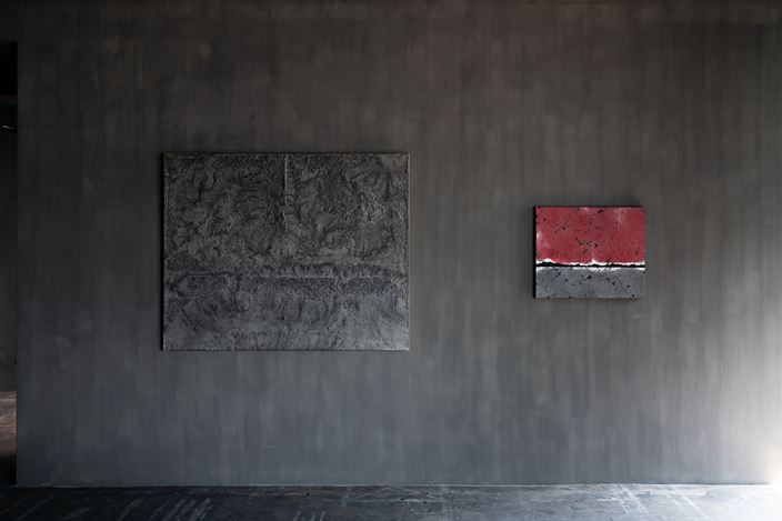 Exhibition view:Chung Chang-Sup, Axel Vervoordt Gallery, Hong Kong (6 February–20 March 2021). Courtesy Axel Vervoordt Gallery.