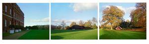 13.11.2000. Hinemihi. Clandon Park. Surrey, England. Nga Tohunga: Wero Taroi, Tene Waitere by Mark Adams contemporary artwork