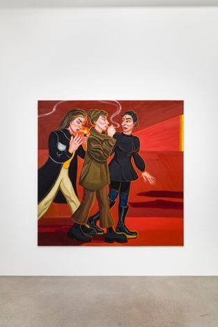 Exhibition view: Ania Hobson, I See You, SETAREH, Düsseldorf (3 September–9 October 2021). Courtesy SETAREH.