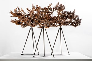 The Dappled Light of The Sun (Study I) by Conrad Shawcross contemporary artwork