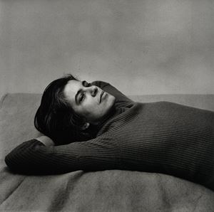 Susan Sontag by Peter Hujar contemporary artwork