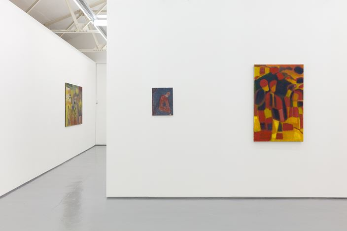 Exhibition view: Alastair Mackinven and Behrang Karimi, Maureen Paley, London (27 February–31 March 2019). © Behrang Karimi. Courtesy Maureen Paley.