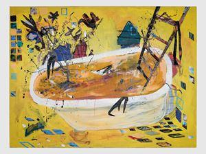 Painter's Bath by Angel Otero contemporary artwork