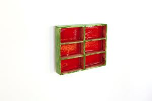 Green_red by Claudia Terstappen contemporary artwork