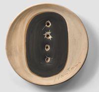 Spatial Concept by Lucio Fontana contemporary artwork sculpture