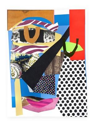 Untitled #16 by Mickalene Thomas contemporary artwork