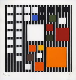 ST (85/100) by Jesús Rafael Soto contemporary artwork