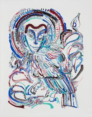 The Wise Bird聪明的鸟 by Wu Jian'an contemporary artwork