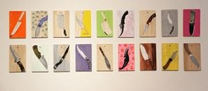 What Knife You Are by Tayeba Lipi contemporary artwork