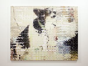 dog by Shiori Tono contemporary artwork