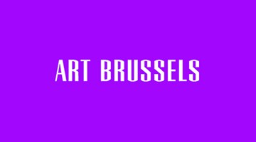 Contemporary art exhibition, Art Brussels 2016 at Xavier Hufkens, Brussels