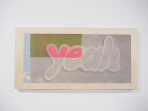 Yeah/Gertrude by Jon Campbell contemporary artwork