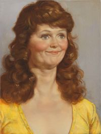Crystal's Friend by John Currin contemporary artwork painting