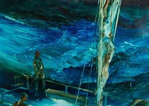 Riding the Storm by John Walsh contemporary artwork