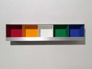 5 Colour Boxes by Adam Barker-Mill contemporary artwork