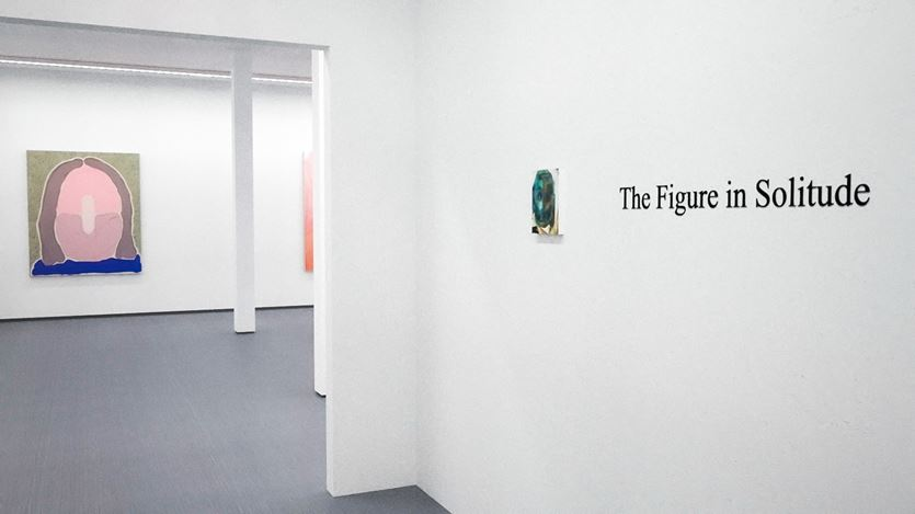 Exhibition view: Group Exhibition, The Figure In Solitude, Kavi Gupta, online exhibition (14–27 April 2020). Courtesy Kavi Gupta.