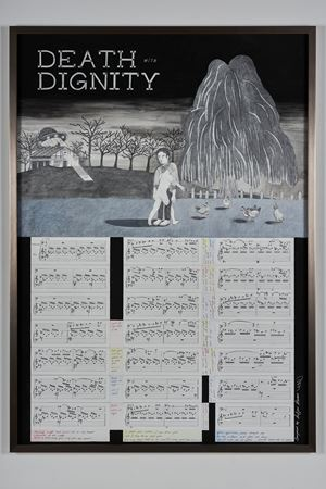 Death with Dignity 死亡榮光 by Ho Sin Tung contemporary artwork