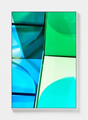 Aqua Green by Lydia Wegner contemporary artwork