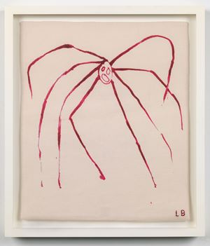 The Fragile by Louise Bourgeois contemporary artwork painting