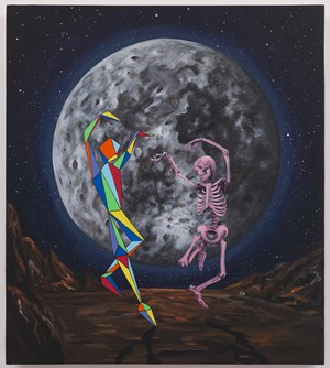 Moon Dance by Djordje Ozbolt contemporary artwork