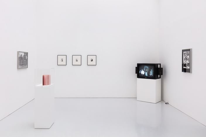 Exhibition view: Rose Finn-Kelcey, Kate MacGarry, London (14 February–30 July 2020). Courtesy Kate MacGarry. Photo: Angus Mill.