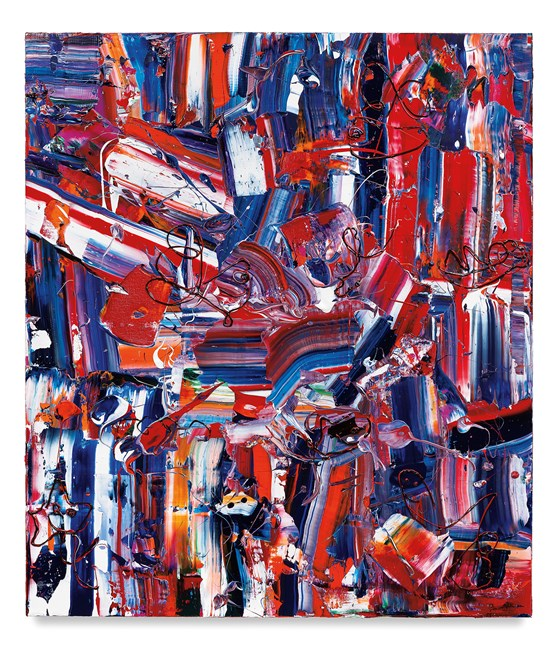 Paint Train by Michael Reafsnyder contemporary artwork