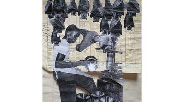 Contemporary art exhibition, Ibrahim Mahama, Solo Exhibition at White Cube, Bermondsey, London, United Kingdom