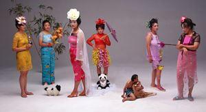 New Women by Wang Qingsong contemporary artwork