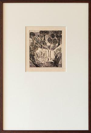 Garden by Mrinalini Mukherjee contemporary artwork print