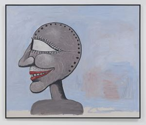 Visitor by Philip Guston contemporary artwork