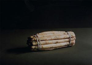 A Bunch of Asparagus by Olivier Richon contemporary artwork