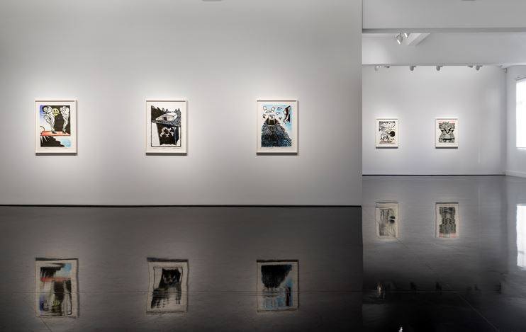 Exhibition view: Benjamin Armstrong, Invisible Stories: Meditations on Port Essington, Tolarno Galleries (14 July–18 August 2018). Courtesy Tolarno Galleries.
