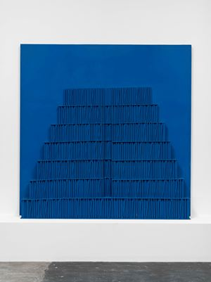 Ziggurat Bleu by Horia Damian contemporary artwork