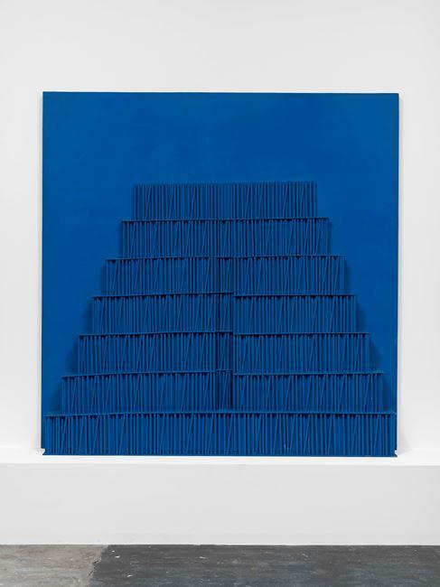 Ziggurat Bleu by Horia Damian contemporary artwork