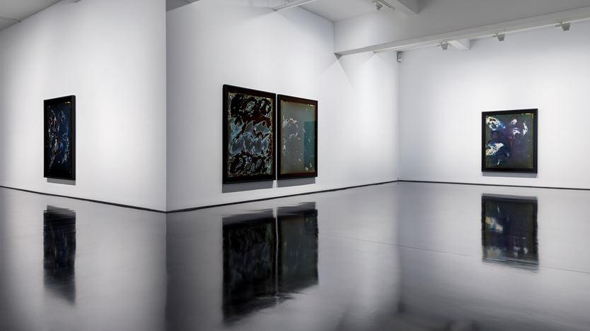 Exhibition view: Justine Varga,Tachisme, Tolarno Galleries, Melbourne (13 February–6 March 2021).Courtesy Tolarno Galleries.