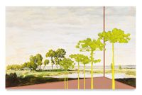 Veduta (Rousseau Spring) by Whitney Bedford contemporary artwork painting