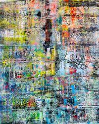 Garden of the Soul by Sassan Behnam-Bakhtiar contemporary artwork painting