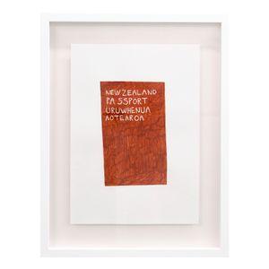 Passport #1 by Ayesha Green contemporary artwork