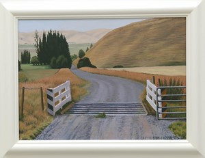 Cattle Stop by Dick Frizzell contemporary artwork