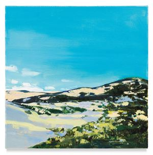 No Name (Landscape) by Isca Greenfield-Sanders contemporary artwork