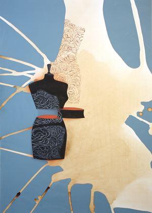 Me & Myself by Ayesha Durrani contemporary artwork