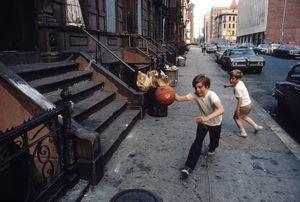 Street Ball, New York, NY by Walter Iooss Jr contemporary artwork