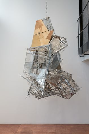 Lee Bul, Untitled sculpture W1 (2010). Exhibition view: Group Exhibition,Inside Out: The Body Politic, Lehmann Maupin, Seoul (2 July–22 August 2020). CourtesyLehmann Maupin, New York, Hong Kong, and Seoul.Photo: OnArt Studio.