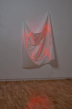Unstable Time C - no. 6 by Tatsuo Miyajima contemporary artwork