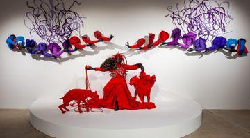 Contemporary art exhibition, Mary Sibande, Unhand Me, Demon! at Kavi Gupta, Washington Blvd, Chicago