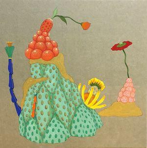 Origin of desire - dialogue - by Mari Ito contemporary artwork