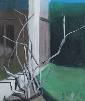 Sans titre (Jardins obscurs #10) by Marc Desgrandchamps contemporary artwork