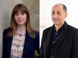 Richard Saltoun and Catherine McCormack on 100% Women