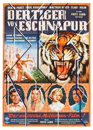Der Tiger von Eschnapur by Sarah Morris contemporary artwork